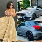 Cindy Mahlangu excited about getting her car back after taking it to be pimped.
