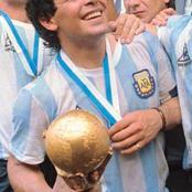 The biography of Diego Armando Maradona