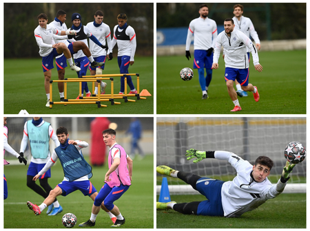 Christian Pulisic Back In Training Ahead Of Chelsea Champions League Fixture Against Atletico Madrid
