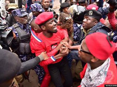 Former Ugandan Presidential Candidates Bobi Wine Arrested Again