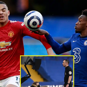 After Chelsea Drew Against Man United, See What Luke Shaw Said About Hudso-Odoi's Penalty Claims
