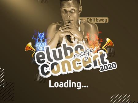 Elubo Mega Concert On 29th November, 2020.