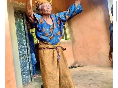 125 Years Old Mama Appreciate God For Blessing Her With Long Life As She Celebrates Birthday Today