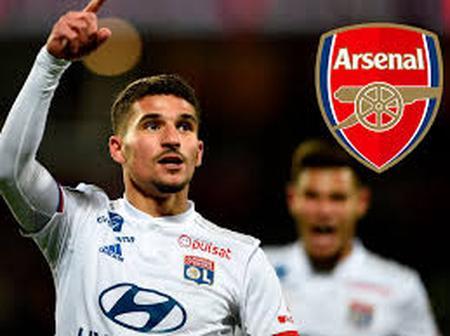Arsenal Set To Table Their Final Bid For Houssem Aouar As Transfer Deadline Edging Closer.