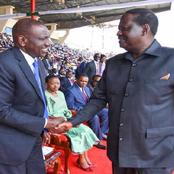 DP Ruto Takes an Early Lead Against Raila Odinga in Presidential Race Twitter Opinion Poll