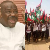 Moments After Wike Called IPOB A Terrorist Group, See How Nigerians Reacted To His Words