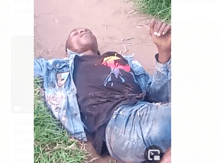 Joint Security Operatives In Benin City Gundown Notorious Armed Robbers At Upper Sakponba