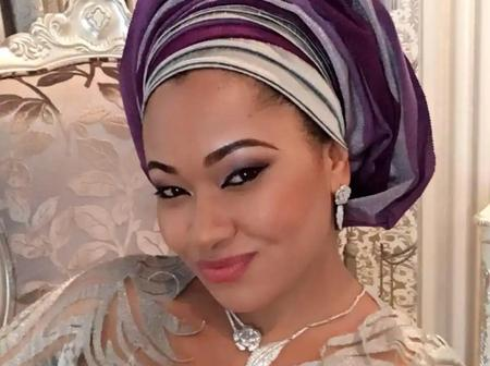 Beautiful Pictures of Former Kogi Governorship Candidate, Natasha Akpoti in Traditional Attire