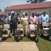 Kenyans React As Machakos High School Principal Donates Wheelchairs To The Disabled