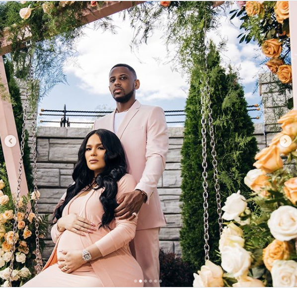 Le rappeur Fabolous et Emily Bustamante célèbrent bébé n ° 3 avec? Baby In Bloom?  douche de bébé (Photos)