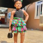 Years After 3 Year old Nicole Became Famous For Slaying in Different Attires, See her Lovely Photos