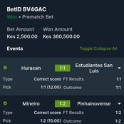 Four Matches With 1042 Odds, Kick Off 19:30pm