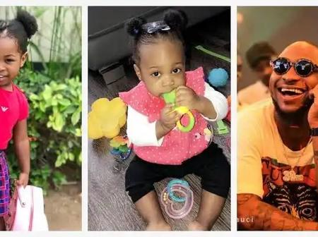 Have You Seen Davidos Three Kids? Checkout Their Beautiful Pictures