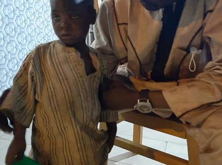 Photos of a 4 year old Almajiri from Katsina