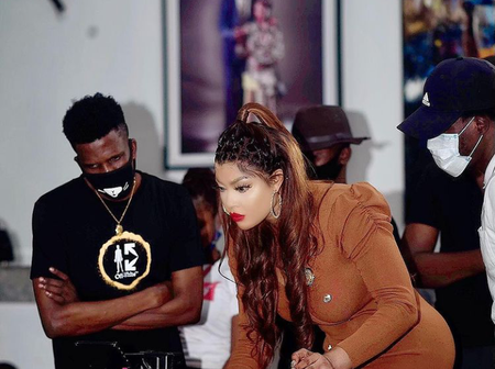 Here's what Ay has to say about Angela Okorie's music as she performs live on AY show