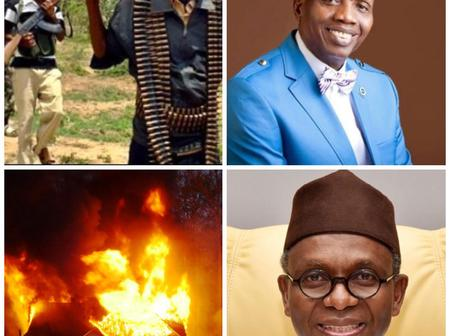 Today's Headlines: Gunmen Attack Ondo Community, Burn 14 Houses, Kidnapped Kaduna RCCG members released