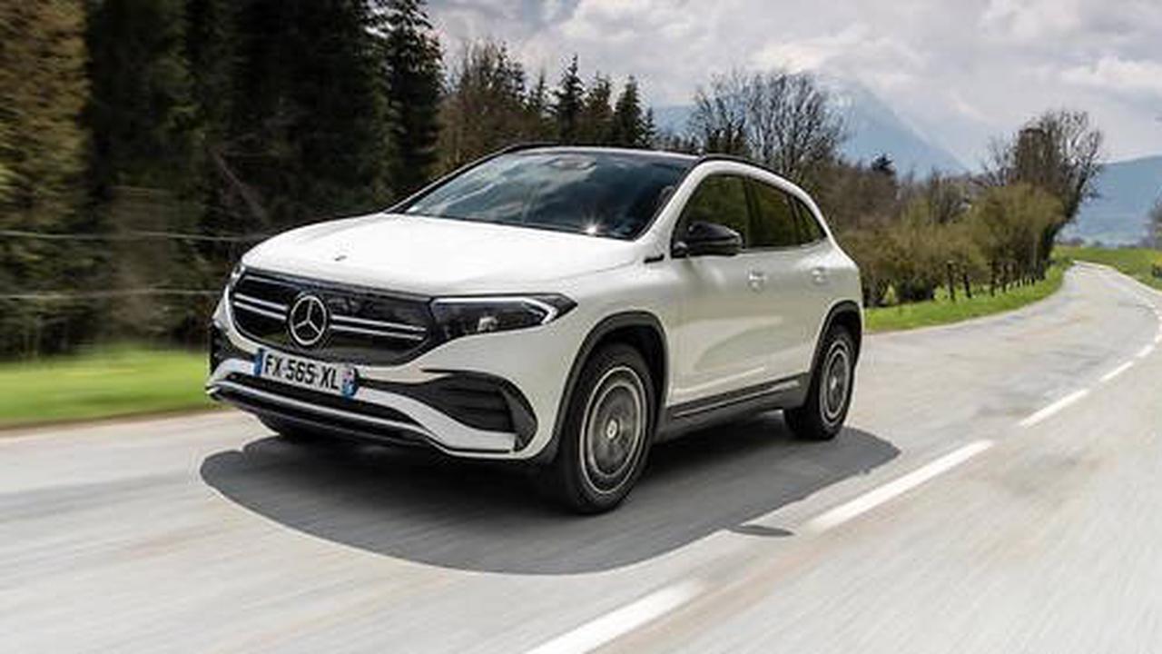 Mercedes EQA: électrique et pragmatique