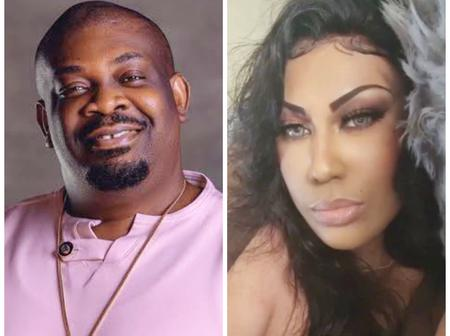 Fans React As Don Jazzy Gives A 'Romantic' Reply To His Ex-Wife After She Thanked Him On Instagram