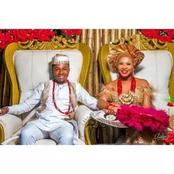 Man Weds Her Primary Monitor Who Always Got His Name In The Noise Makers List In A Colorful Wedding