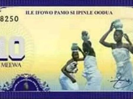 [PHOTOS] See The Yoruba Nation (Oduduwa Republic) Currency.