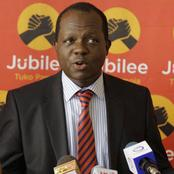 Jubilee Wrangles; Tuju Confirms This About Tangatanga MPs Party Contribution For February