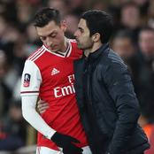 Mikel Arteta Has Finally Spoken about The Reason Why Mesut Ozil Was Omitted From Arsenal Squad.