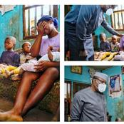 After the death of the two farmers yesterday, see what governor Fayemi did for their family