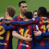 Messi et Dembélé détruisent le mur de Séville