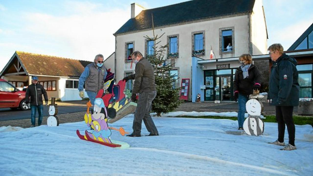 Kerfourn - Le bourg de Kerfourn revêt ses habits de fête