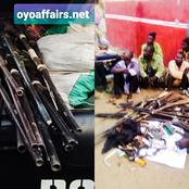 Days After The Notorious Wakili Was Nabbed, Amotekun Men Also Apprehended 16 Hausas With Guns In Oyo