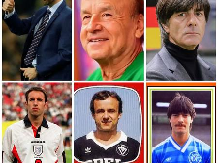 Throwback Photos Of Gareth Southgate, Gernot Rohr And Joachim Low As Players