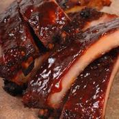 Recipe; Barbecued Spare Of Pork