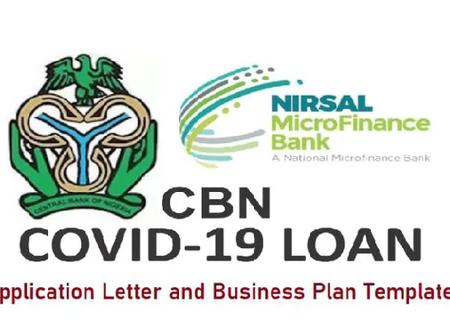 If You Applied For Covid 19 Loan, This Message Is For You