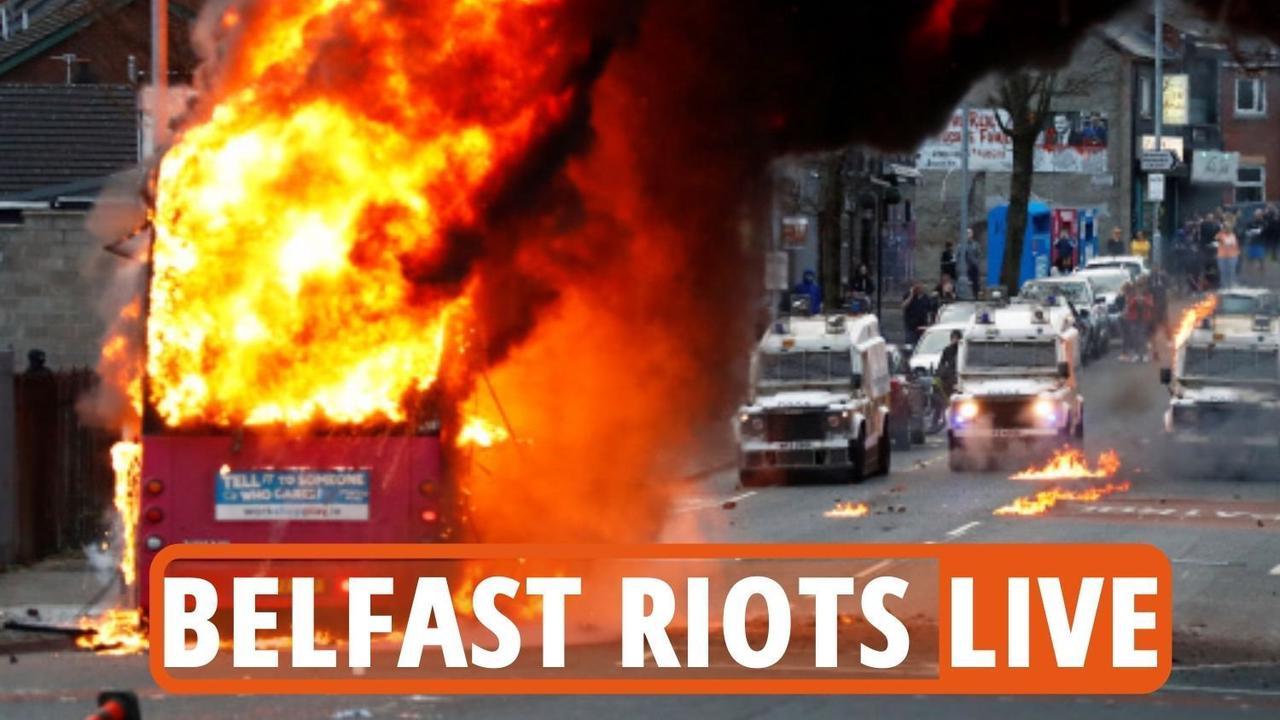 Belfast riots LIVE - Seven cops hurt after petrol bomb attacks and bus hijack
