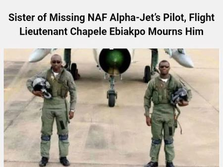 Serving His Country Was His Wish Since He was 9 - Sister Of The Missing NAF Alpha Jet Pilot Mourns