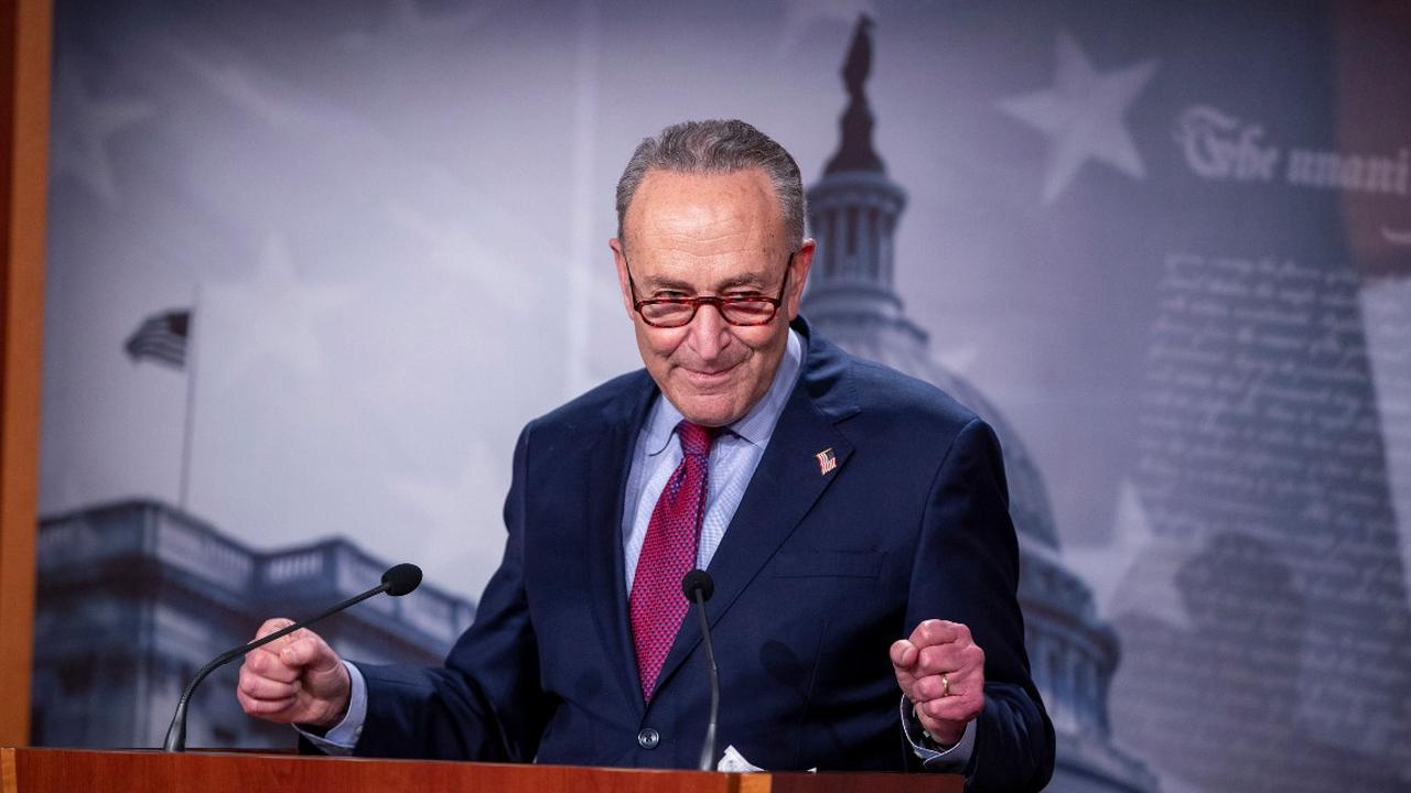 Schumer leads Dems to messy but major win on Covid aid