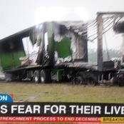 Local Truck Driver Burned To Death As Truck Arsons Continues In South Africa