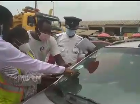 NIC impounds vehicles with fake insurance vehicle stickers