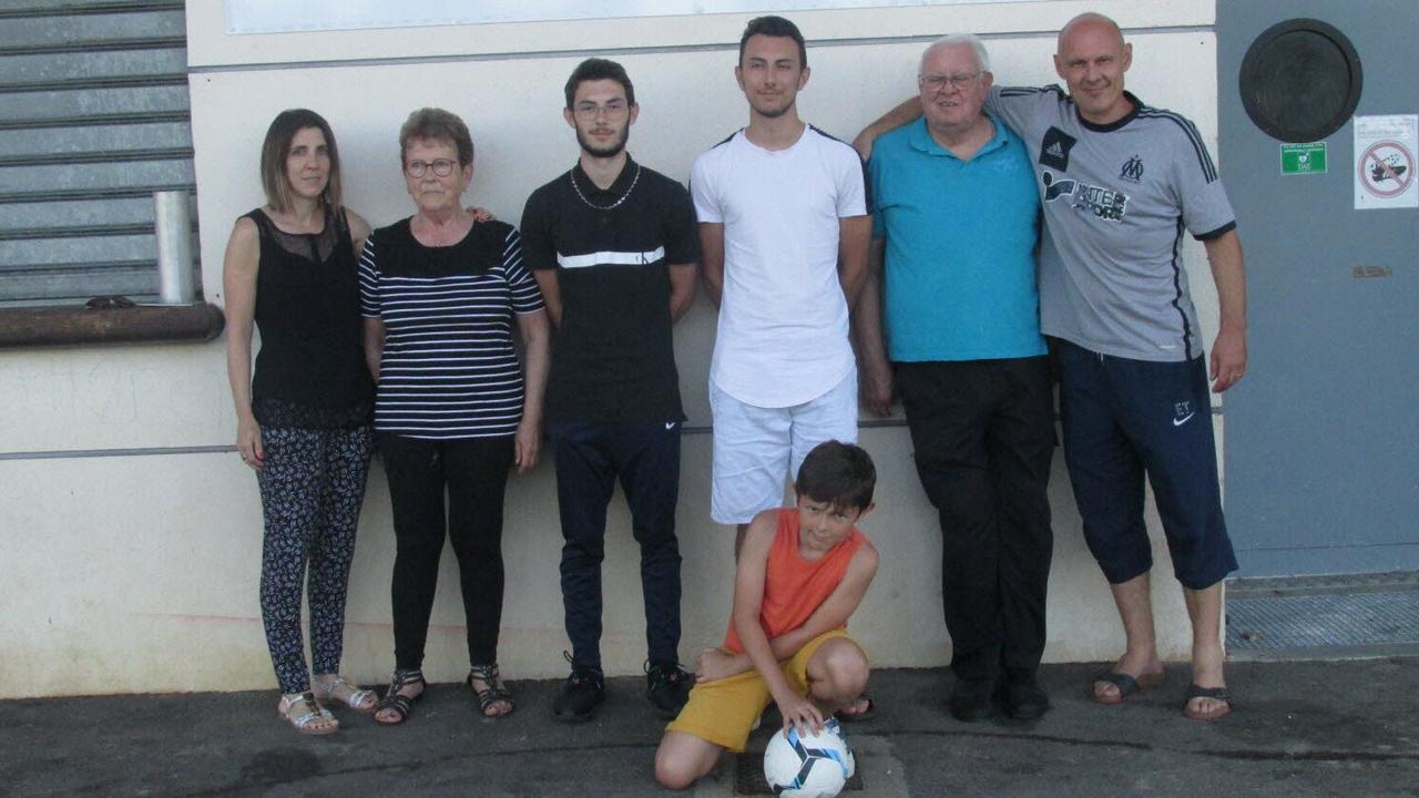 Saint-Marcel-lès-Valence. La famille Tiradon vibre et vit pour le football