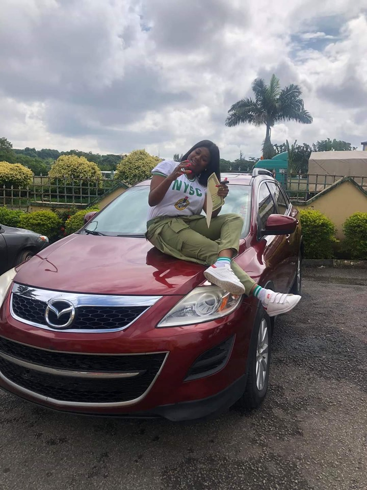 dbe2f04b4d63dba589dd3596a6558a51?quality=uhq&resize=720 - Fish Vendor Acquires New Automotive To Have a good time Passing Out of NYSC | See Photographs