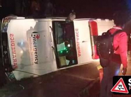 Drunk Ambulance Driver Causes Accident In Baringo