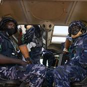 Somali Police Force AMISOM Intensify Security Patrols in Mogadishu City
