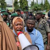See What Galaxy TV journalist Told Aisha Yesufu To Do For Buhari Government