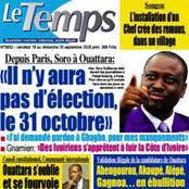 Titrologie du vendredi 18 septembre : revue des journaux ivoiriens