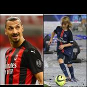 Meet Zlatan Ibrahimovic Son Who Is Developing Very Well In Football