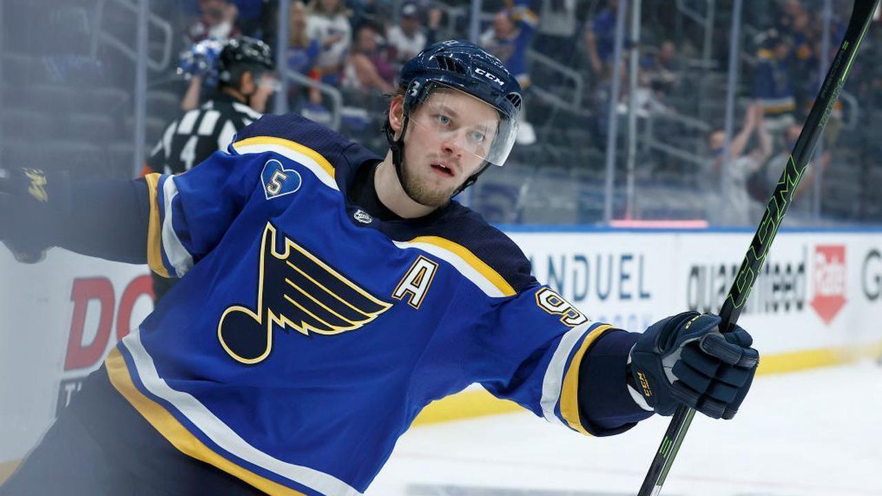 Report: Vladimir Tarasenko requests trade from Blues