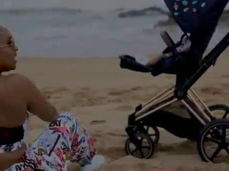 Netha Jones's stroller caused a stir on social media
