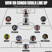 How Republic of Congo Lineup Will Look Like if All Their International Players Played For Them