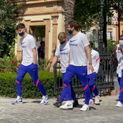 Ziyech, Havertz and others strolling before tonight's Chelsea vs Porto kick off (photos)