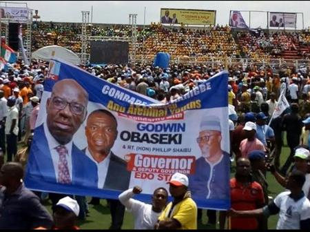 Edo 2020: What Happened To Obaseki That Lead Him To Cancel His Campaign in Etsako West LG Yesterday